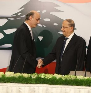 Aoun and Geagea