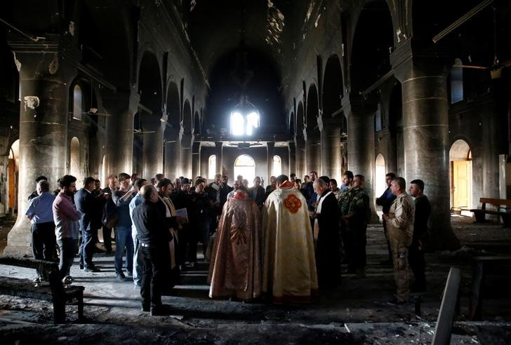 "Iraq's weak Leviathan and the sectarian demon: ""the rise"" of Christian militias"