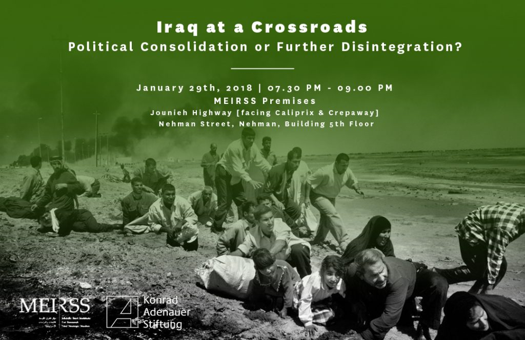 Event: Iraq at a Crossroad – Political Consolidation or Further Disintegration?